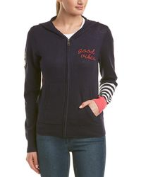 Chaser - Embroidered Cashmere-blend Hoodie - Lyst