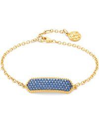 Freida Rothman - Pavé Cz Link Chain Bracelet - Lyst