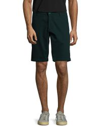 AG Green Label - Canyon Cotton Shorts - Lyst