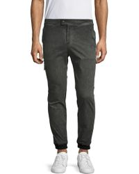 Lot78 - Cotton Faded Joggers - Lyst