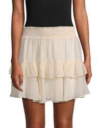 Rebecca Minkoff | Ruffle Skirt | Lyst