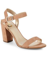 Circus by Sam Edelman - Esther Block Heel Ankle Strap Sandals - Lyst