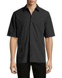Helmut Lang - Bar Tab Ss Shirt.sue - Lyst