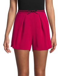 Maje - Pleated Short - Lyst