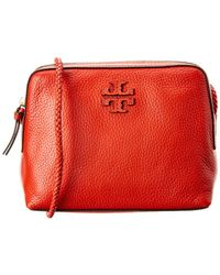 0ac21f86384 Tory Burch - Taylor Leather Camera Bag - Lyst