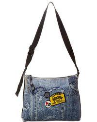 1e118dbcfbf634 Chanel Limited Edition Blue Denim Medium Single Flap Bag in Blue - Lyst