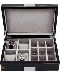 Bey-berk - Four Watch & Cufflink Case - Lyst