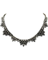 Stephen Webster - Silver & Rhodium Mother-of-pearl Necklace - Lyst