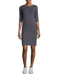 Saint James - Propriano Two Striped Sheath Dress - Lyst