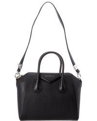 a8713e09e3 Givenchy - Antigona Small Grained Leather Tote - Lyst