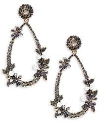 Cara | Pear-shaped Drop Earrings | Lyst