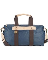 Will Leather Goods Waxed Canvas Duffel Bag