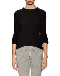 Ragdoll - Cotton Ribbed Mock Neck Sweater - Lyst