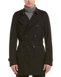 Burberry - The Kensington – Mid-length Trench Coat - Lyst