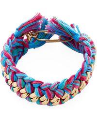 Aurelie Bidermann - Do Brasil Bangle Bracelet - Lyst