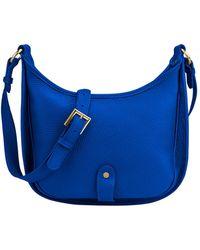 Gigi New York - Casey Pebble Grain Leather Crossbody Bag - Lyst
