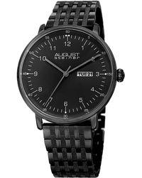 August Steiner - Men's Stainless Steel Watch - Lyst