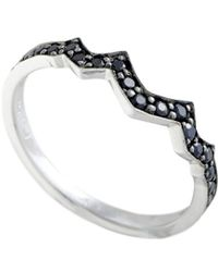 Stephen Webster - Silver 0.36 Ct. Tw. Sapphire Ring - Lyst