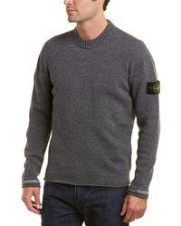 Stone Island Wool-blend Sweater