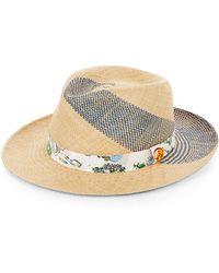 Robert Graham - Woven Panama Hat - Lyst
