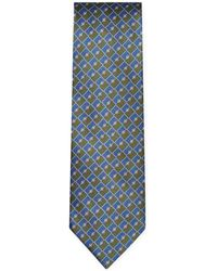 Brioni - Stripes And Diamonds Tie - Lyst