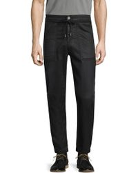 Diesel Black Gold - Solid Cotton Jeans - Lyst
