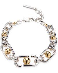 Marc Jacobs - Icon Statement Link Bracelet - Lyst
