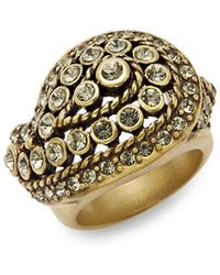 Heidi Daus - Divine Miss Daisy Rhinestone & Crystal Cocktail Ring - Lyst
