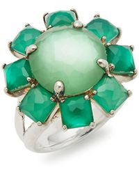 Ippolita - Rock Candy Turquoise & 18k Yellow Gold Large Octagon Ring - Lyst