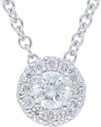 Nephora 14k 0.17 Ct. Tw. Diamond Necklace