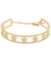 Gabi Rielle - 22k Over Silver Cz Bracelet - Lyst