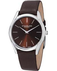 Stuhrling Original - Men's Classic Two Hand Movement Watch, 40mm - Lyst