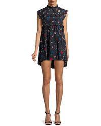 Balenciaga Short Dress - Blue