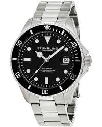 Stuhrling Original - Men's Aquadiver Watch - Lyst