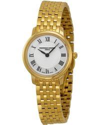 Frederique Constant - Women's Slimline Watch - Lyst