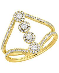 Diana M. Jewels - . Fine Jewelry 14k 0.50 Ct. Tw. Diamond Ring - Lyst