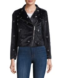 Rebecca Minkoff - Wes Motorcycle Jacket - Lyst