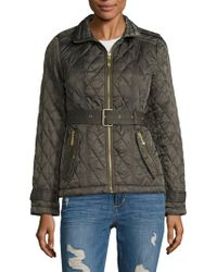 Vince Camuto - Petite Quilted Jacket - Lyst