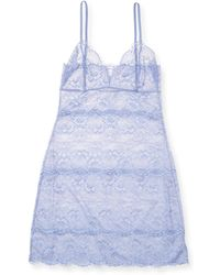 Samantha Chang - Full Lace Chemise - Lyst