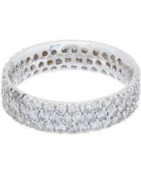 Diana M. Jewels - . Fine Jewellery 18k 2.70 Ct. Tw. Diamond Eternity Ring - Lyst