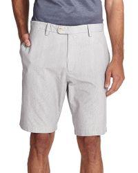 Saks Fifth Avenue - Pincord Bermuda Shorts - Lyst