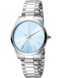 Just Cavalli - Relaxed Stainless Steel Watch, 32mm - Lyst