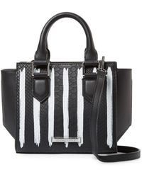 Kendall + Kylie - Brook Mini Striped Tote Bag - Lyst