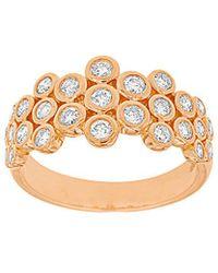 Diana M. Jewels - . Fine Jewelry 14k Rose Gold 0.76 Ct. Tw. Diamond Ring - Lyst