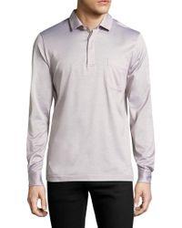 La Perla - Long Sleeve Cotton Shirt - Lyst