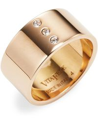 Vita Fede - Tre Solitaire Pinky Ring - Lyst