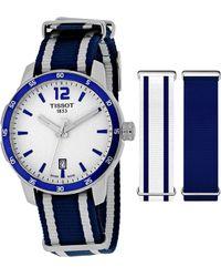 Tissot - Women's Quickster Watch With Interchangeable Straps - Lyst