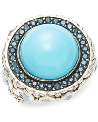 Stephen Dweck - Turquoise And Sterling Silver Ring - Lyst