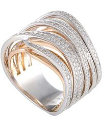 Chimento - 18k Two-tone 1.09 Ct. Tw. Diamond Ring - Lyst