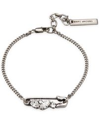 Marc Jacobs | Safety Pin Chain Bracelet | Lyst
